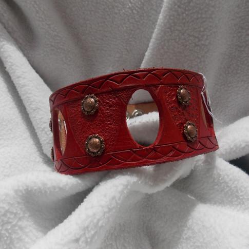 $20 Red Peek-a-boo Choker