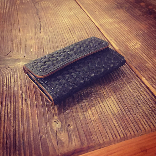 Coin Case Basket Black