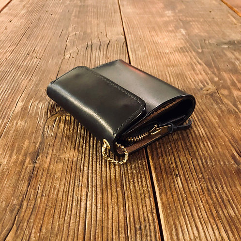Short Wallet Type2 Black