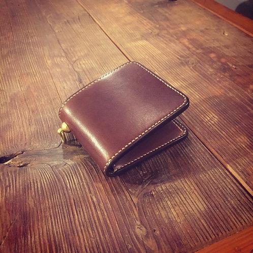 Short Wallet Brown