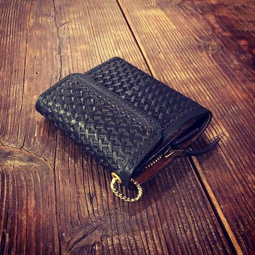 Short Wallet Type2 Basket Black