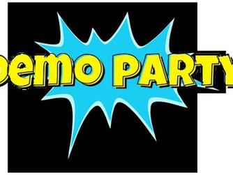 Minősített eTwinning projekt - Demo Party