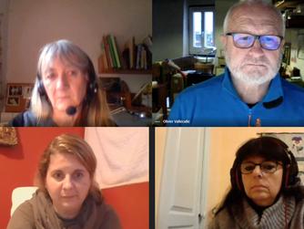 Online találkozó a francia kollégákkal