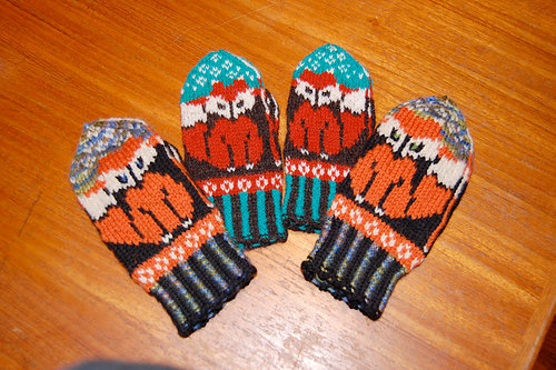 Little Foxies Mittens