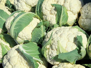Cauliflower…. superfood of the week