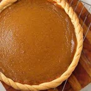 "Organic Pumpkin Pie 8"""