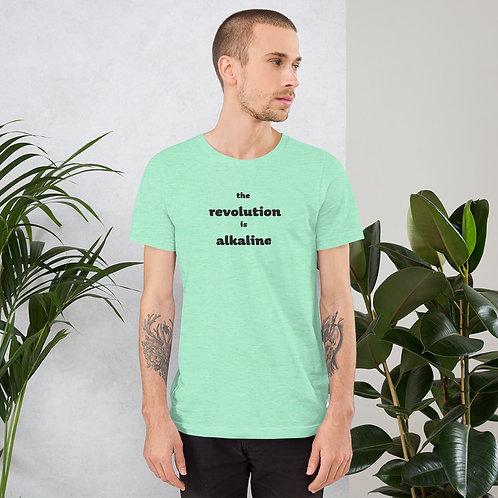 Alkaline Revolution Short-Sleeve Unisex T-Shirt - Black Ink