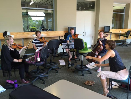 Adam Summer School inspires young chamber musicians