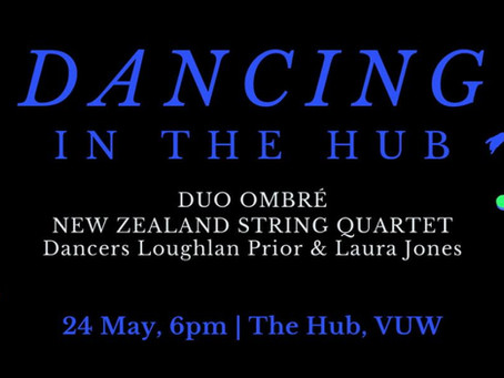 Dancing in the Hub: Duo Ombré and NZSQ