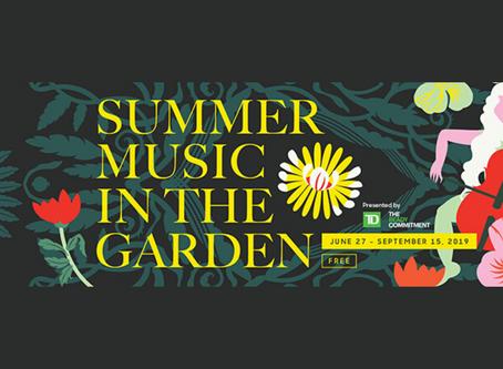 Summer Music in the Garden 2019