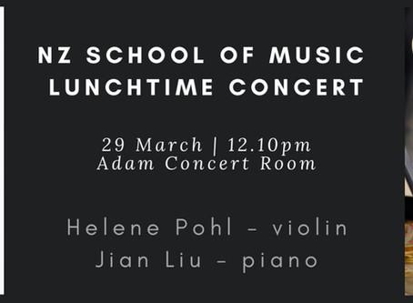 NZSM Lunchtime Concert: Helene and Jian Liu