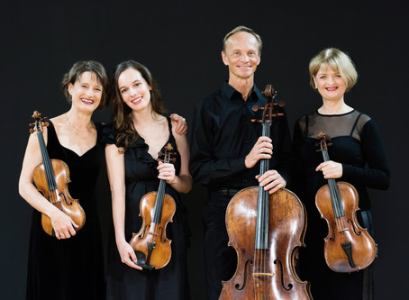 Review: Janacek & Beethoven String Quartets from the amazing NZSQ