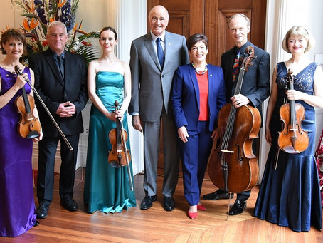 New Zealand String Quartet 30th Anniversary at Government House
