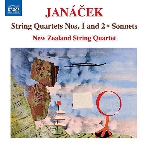 JANÁČEK, L.: String Quartets Nos. 1 and 2 / Sonnets, JW VII/1 and 2