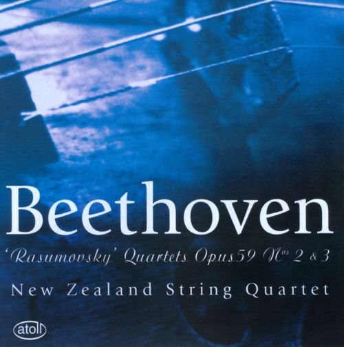 Beethoven 'Rasumovsky' String Quartets op. 59, no. 2 & 3