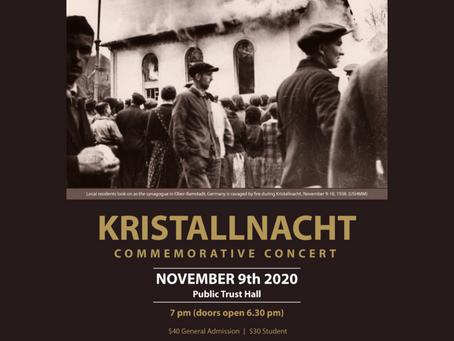 Kristallnacht Commemorative Concert IV
