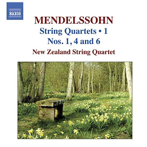 Mendelssohn String Quartets Vol.1 / Nos. 1, 4, 6