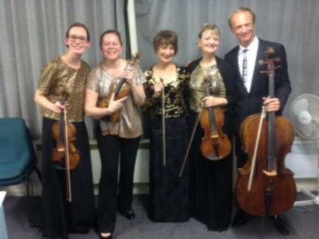 Review: NZ String Quartet with Kathryn Stott