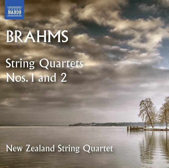 BRAHMS: String Quartets Nos. 1 and 2
