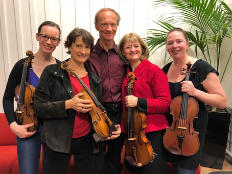 Playing Viola Quintets with New Zealand String Quartet violist | ANZVS Journal Issue No. 48