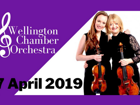 Sinfonia Concertante with Wellington Chamber Orchestra