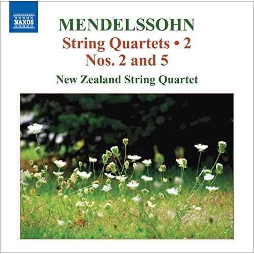 Mendelssohn String Quartets Vol.2 / Nos. 2 & 5