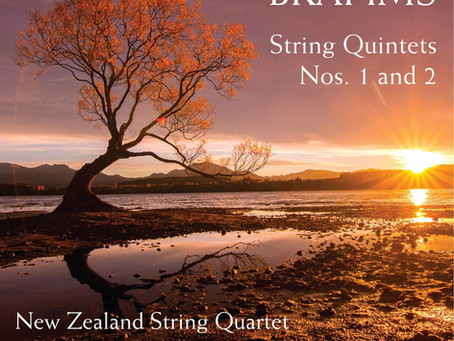 Review:Brahms' Quintets Naxos – graceful, beautifully-lit readings by the NZSQ with Maria Lambros
