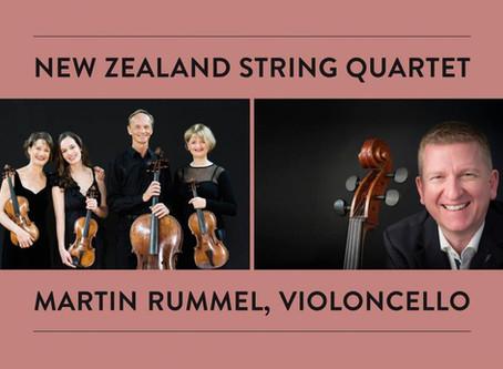 New Zealand String Quartet & Martin Rummel in Vienna