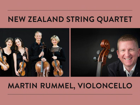 New Zealand String Quartet & Martin Rummel in Vienna