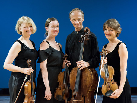 Review: New Zealand String Quartet put shine on French finery