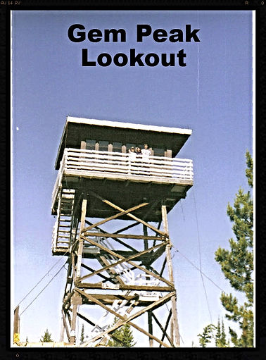 Gem Peak firetower