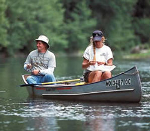 Fishing on the Gasconade River
