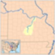 Gasconade River Map