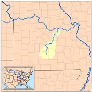 Gasconade River Map