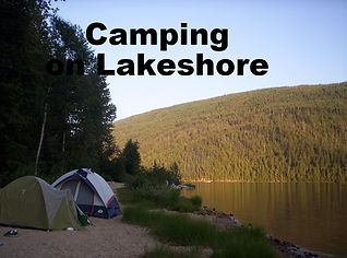 TentCamping on Lakeshore