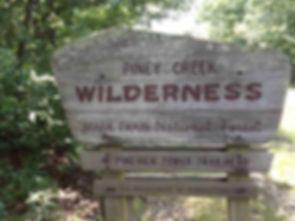 Piney Creek Wilderness Sign Towersite