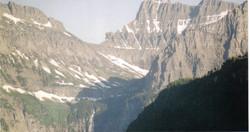 Majestic Glacier National Park Mountains