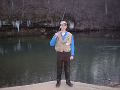 Fly fishing the Current River