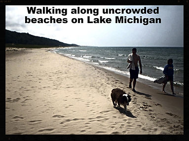 Sand beaches of Lake Michigan Recreation Area