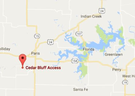 Cedar Bluff Access and Mark Twain Lake