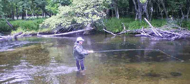 Fishing the Pere Marquette River