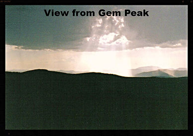 View from Gem Peak