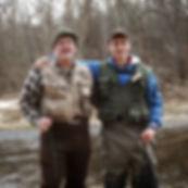 Trout fishing Little Piney in Missouri