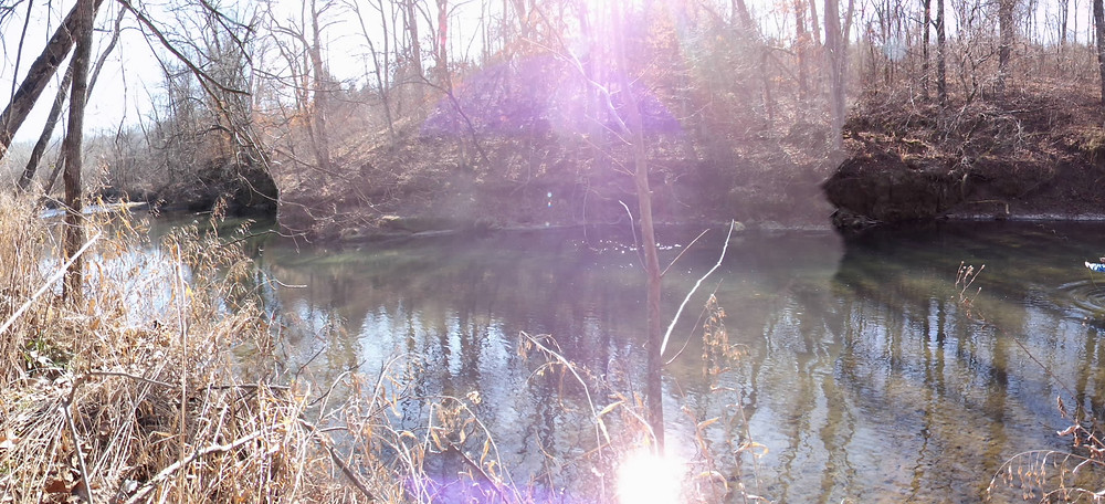 Picasa - David Mann fishes blue ribbon trout section - Current River. This secti