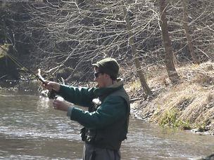 Fly fishing on Missouri's Current River