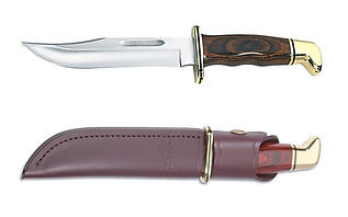 The correct hunting knife