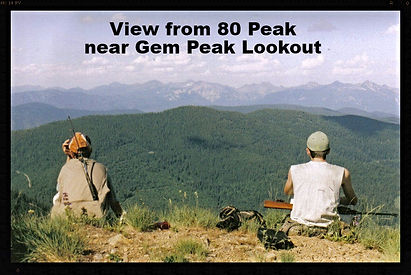 View from 80 Peak, not far from Gem Peak