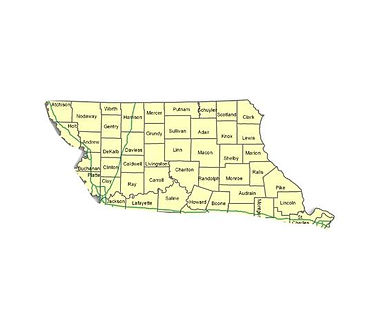 Northern Missouri deer hunting counties
