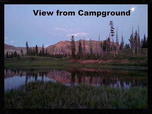 Camping in Colorado's Flattops