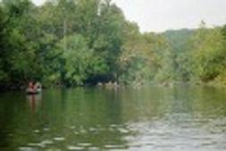 Trout fishing the Meramec River